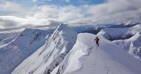Winter mountaineering in Scotland