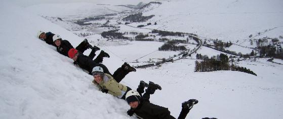 Student winter skills weekend