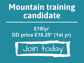 Join Mountaineering Scotland - Mountain Training Candidate