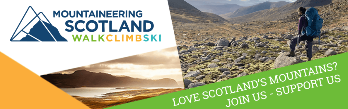 Love Scotland's mountains? Join us, support us