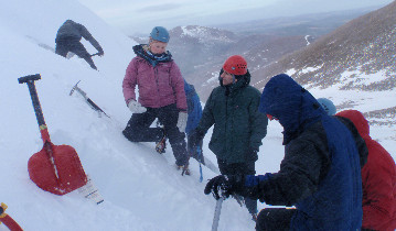 Photo of Mountaineering Scotland skills course