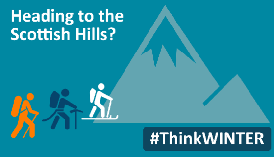 Heading to the Scottish hills this winter? Learn how to Think Winter!